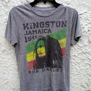 Bob Marley Kingston Jamaica Shirt Small